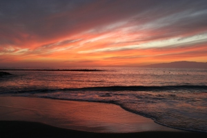 Fanabe_beach_sunset